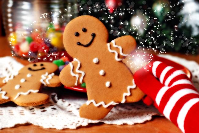 Συνταγή για χριστουγεννιάτικα μπισκότα με ζαχαρόπαστα!