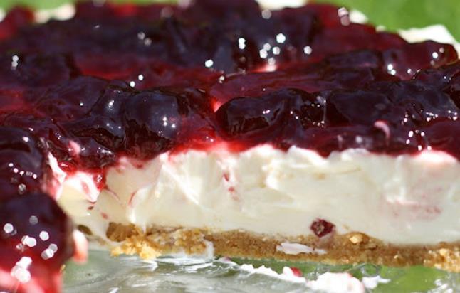 Cheesecake με μελομακάρονα τουΆκη
