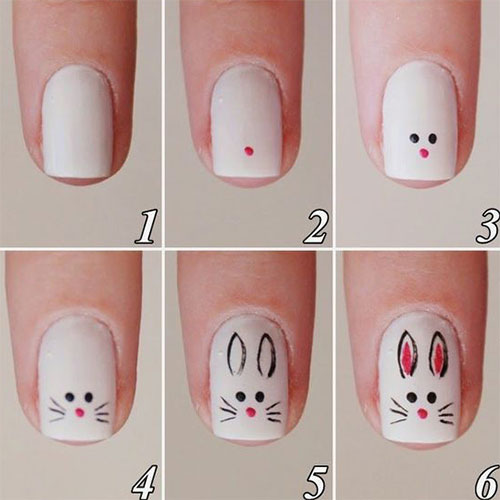 10-Step-By-Step-Easter-Nail-Art-Tutorials-For-Learners-2017-9
