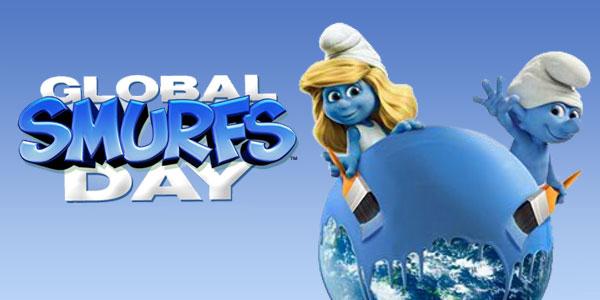 Παγκόσμια Ημέρα των Στρουμφ