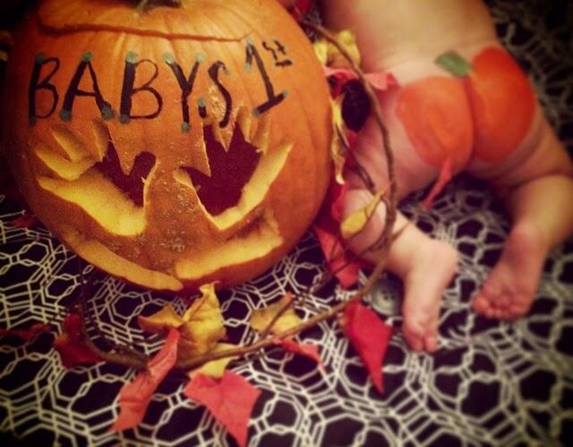 Baby pumpkins butt!