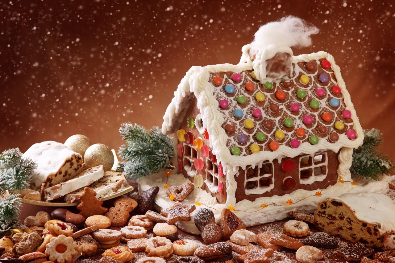 Χριστουγεννίατικα γλυκά σπιτάκια!