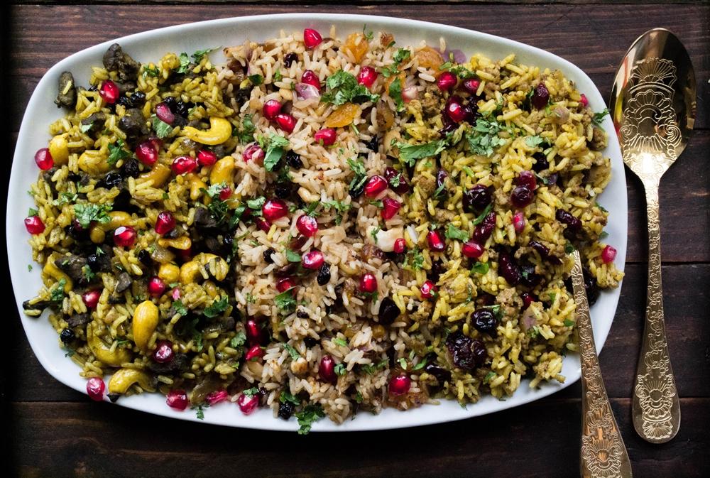 Γιορτινό Ρύζι (σε ΤρειςΕκδοχές)