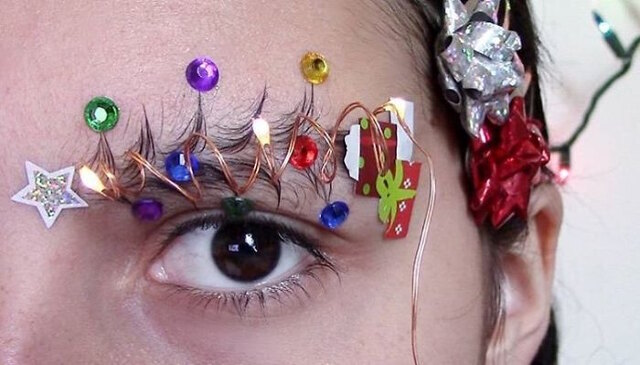 chistmas-tree-eyebrows-4