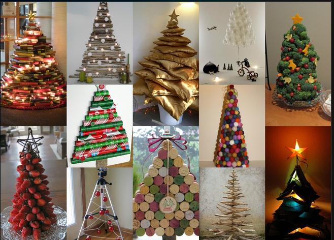 Χριστουγεννιάτικα δέντρα αλλιώς!