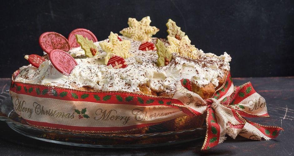 Βασιλόπιτα cupcake
