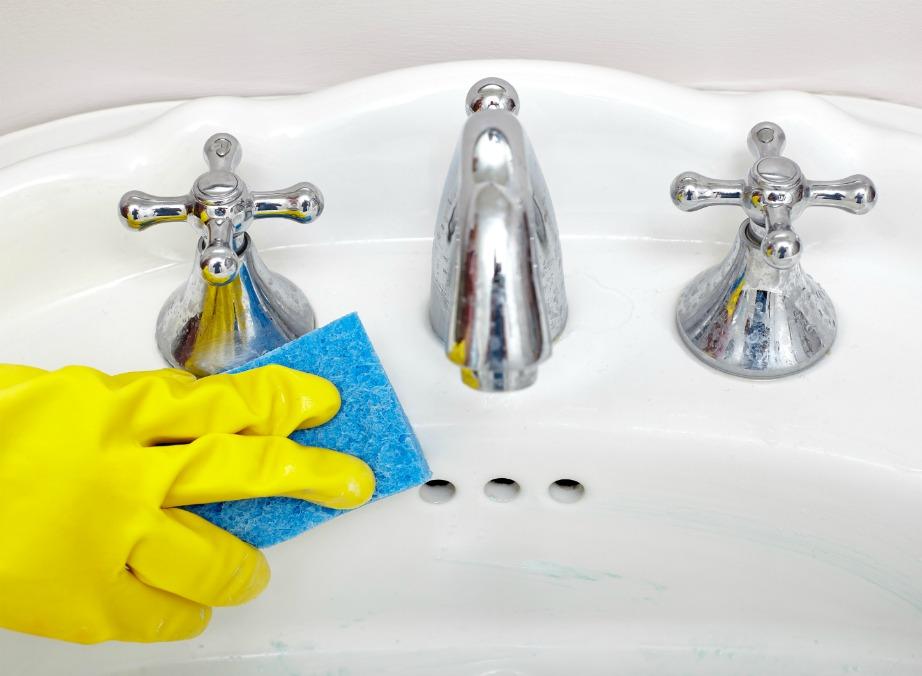 DIY Καθαριστικό για Νιπτήρες και Πάγκους που Αστράφτουν απόΚαθαριότητα