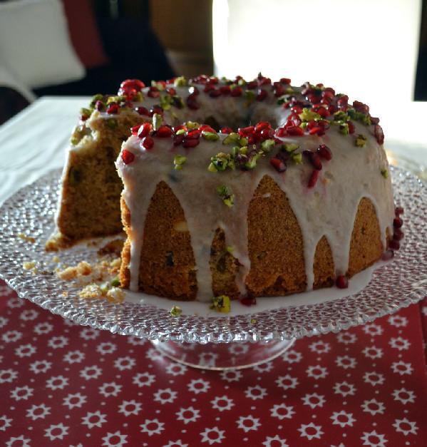 Xριστουγεννιάτικο κέικ