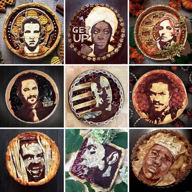 Πίτες με πορτραίτα διασήμων τρελαίνουν τοΙnstagram