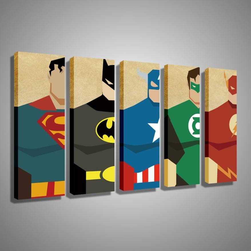 Oil-Painting-Canvas-Super-Hero-Superman-Batman-Cartoon-Modular-Decoration-Home-Decor-Modern-Wall-Pictures-For.jpg