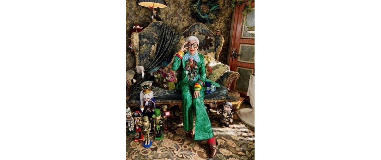 Η Iris Apfel είναι και επισήμως η…γηραιότερη Barbie στονκόσμο
