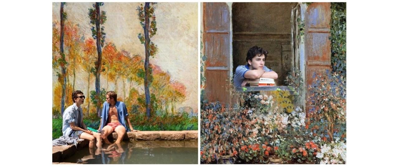 Call me by Monet: Ο Instagram λογαριασμός που παντρεύει την ταινία με τηντέχνη