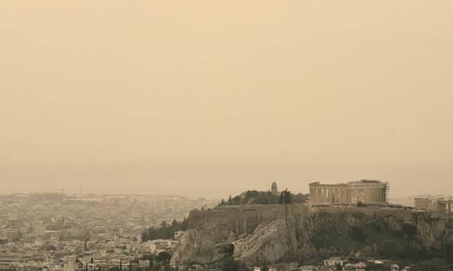 Καιρός – Τι αποκαλύπτει επιστήμονας για την αφρικανική σκόνη που «σκέπασε» τη χώραμας