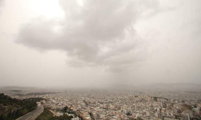 Με λασποβροχές και αφρικανική σκόνη ηΠαρασκευή