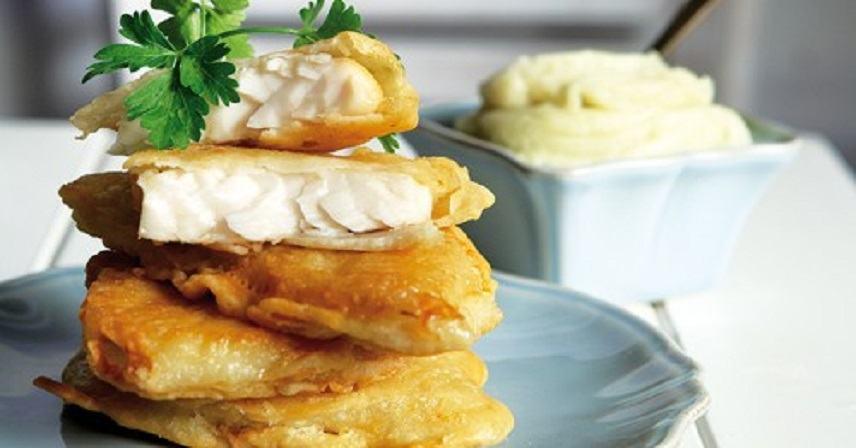 Η συνταγή της ημέρας: Μπακαλιάρος τηγανητός μεσκορδαλιά!