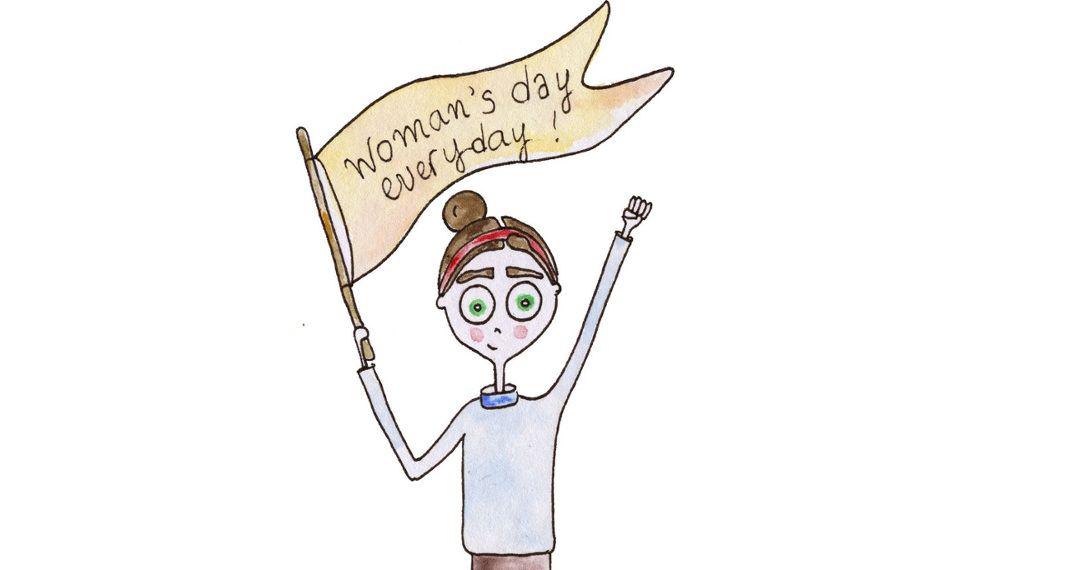 Η γυναίκα αλλιώς: 20+1 σκίτσα της Ιρίνας Χατζηνικολάου για την Ημέρα τηςΓυναίκας