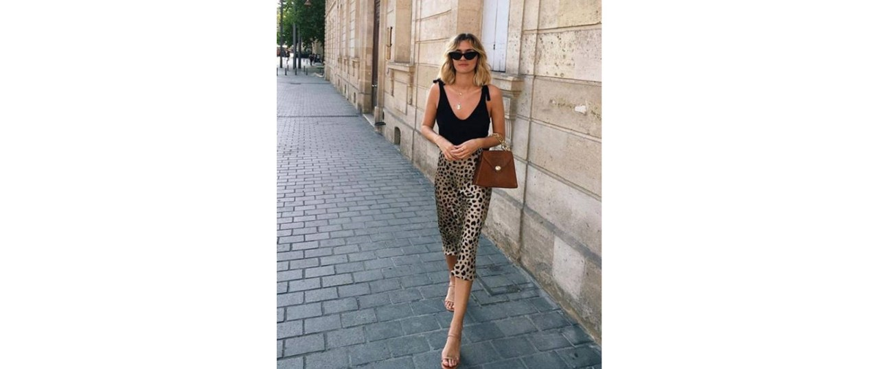 Animal print: Η statement φούστα που λατρεύουν οιinfluencers