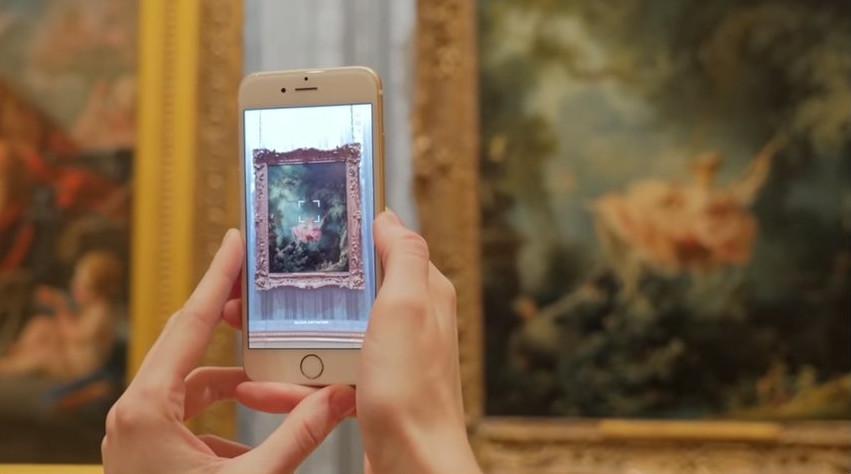 Η απόλυτη ταξιδιωτική εφαρμογή για τα μουσεία! Σκανάρεις τα έργα και σου δίνει τις πληροφορίες πουχρειάζεσαι!
