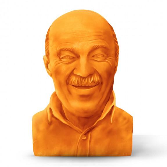 Μπορείς να φτιάξεις μια προτομή του μπαμπά σου από τυρί για τη Γιορτή τουΠατέρα