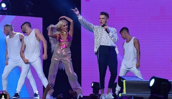 Αποσπάσματα από τις LIVE εμφανίσεις των Mad VMA2018