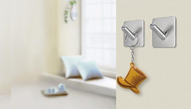 Αυτοκόλλητοι Γάντζοι: Έξυπνες Ιδέες για να τους Χρησιμοποιήσετε σε Όλο τοΣπίτι