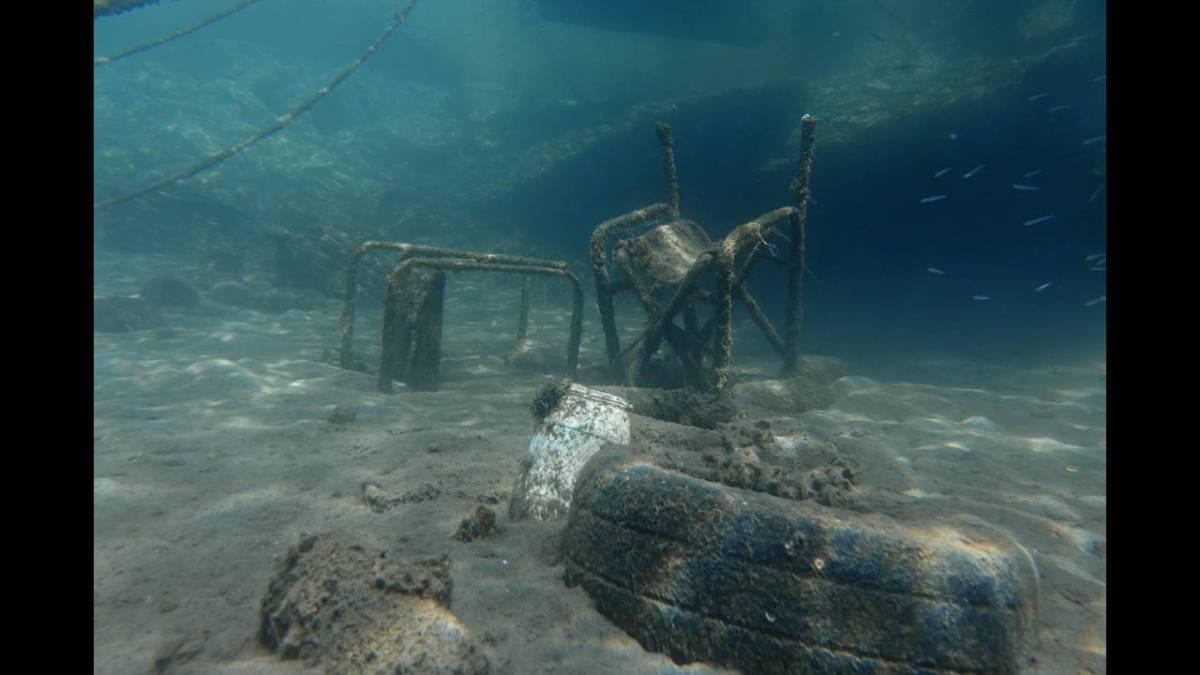 Μια… θάλασσα από σκουπίδια: Τα «ένοχα μυστικά» του βυθού σε τρία ελληνικά νησιά