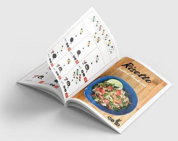 Αυτό το βιβλίο μαγειρικής έχει μόνο εικόνες και καθόλουκείμενο!
