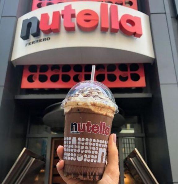 Το δεύτερο Nutella cafe στην Αμερική είναιγεγονός!