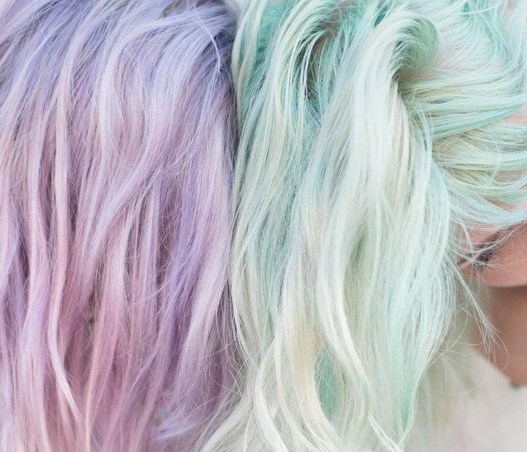 Video! Δες πως θα βάψεις τα μαλλιά σου παστέλ μεκιμωλίες…
