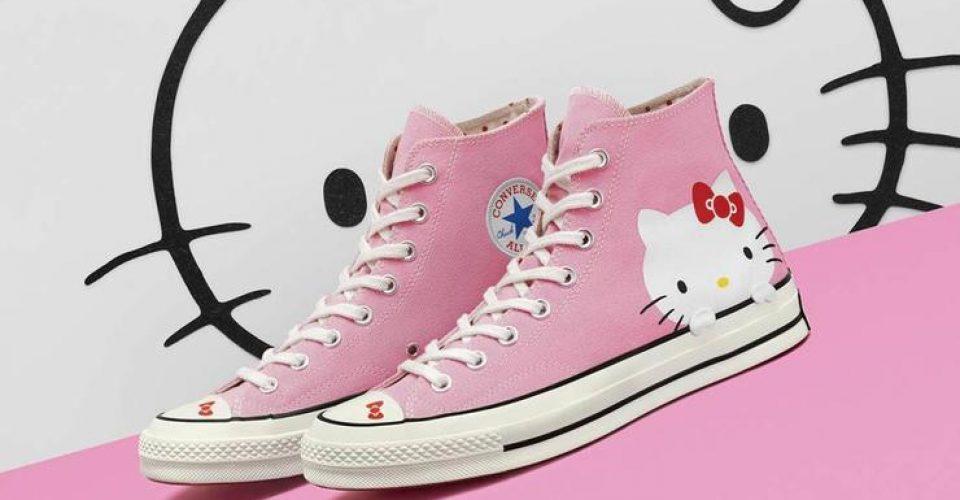 H Converse και η Hello Kitty συνεργάζονται στην πιο «χαρούμενη» συλλογήsneakers