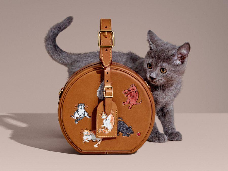 Αν λατρεύετε τις γάτες πρέπει να δείτε τη νέα συλλογή LouisVuitton