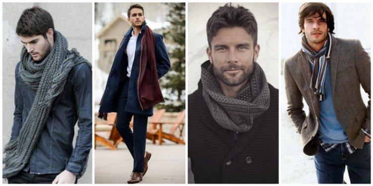 8 Τρόποι να φορέσει ένας άντρας το κασκόλτου!