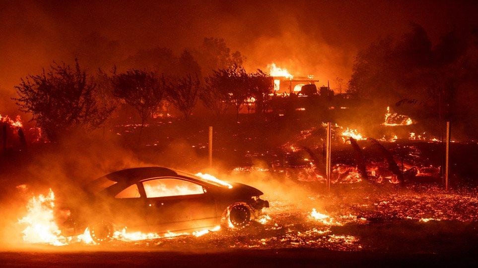 Καλιφόρνια: Στους 71 οι νεκροί και πάνω από 1.000 αγνοούμενοι από τηνπυρκαγιά