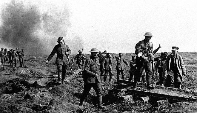 100 χρόνια από το τέλος του Πρώτου ΠαγκοσμίουΠολέμου