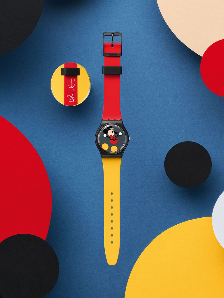 Swatch, Disney, and Damien Hirst Are Celebrating Mickey's 90th Birthday InStyle