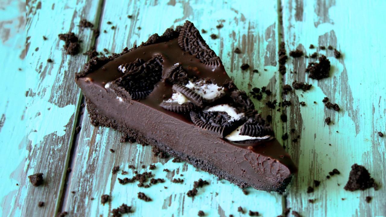 Υπέροχη τάρτα με μπισκότα Oreo χωρίςψήσιμο