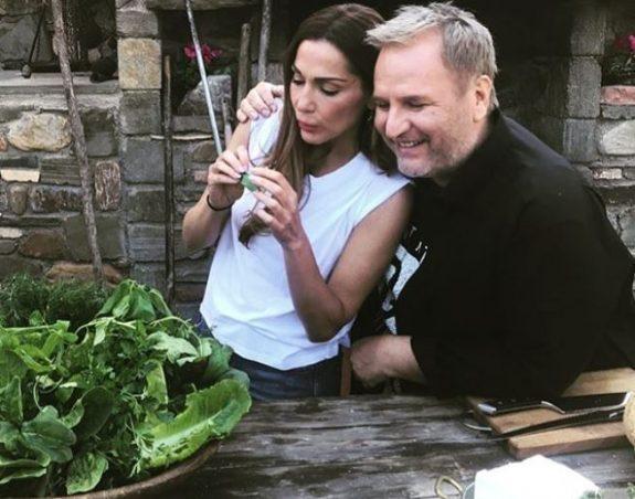 Η Δέσποινα Βανδή ετοιμάζει εκπομπή μαγειρικής με τον ΒαγγέληΔρίσκα