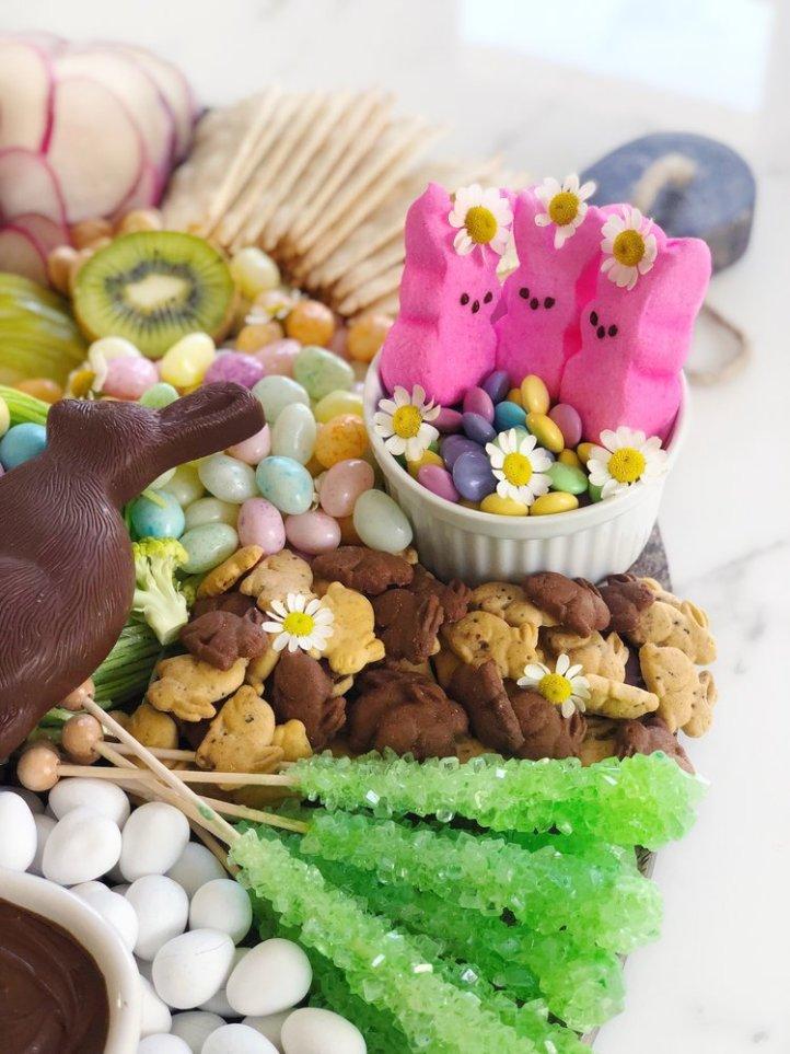 Easter Cheese Plate 4 Sweet Peeps