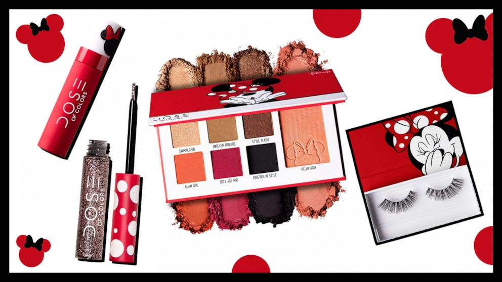 Give yourself a 'Minnie' makeover with this new Disney makeupcollection