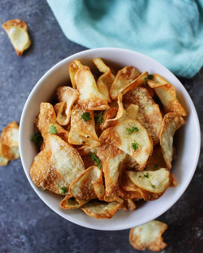 Oil-Free Air Fryer Chips