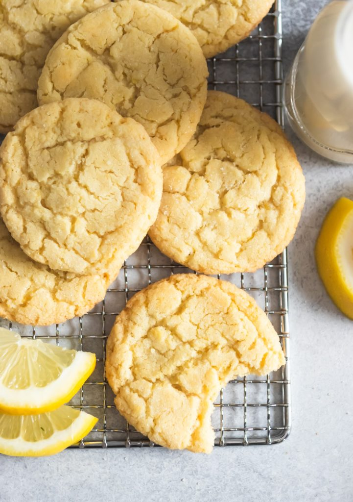 Small Batch Lemon Sugar Cookies