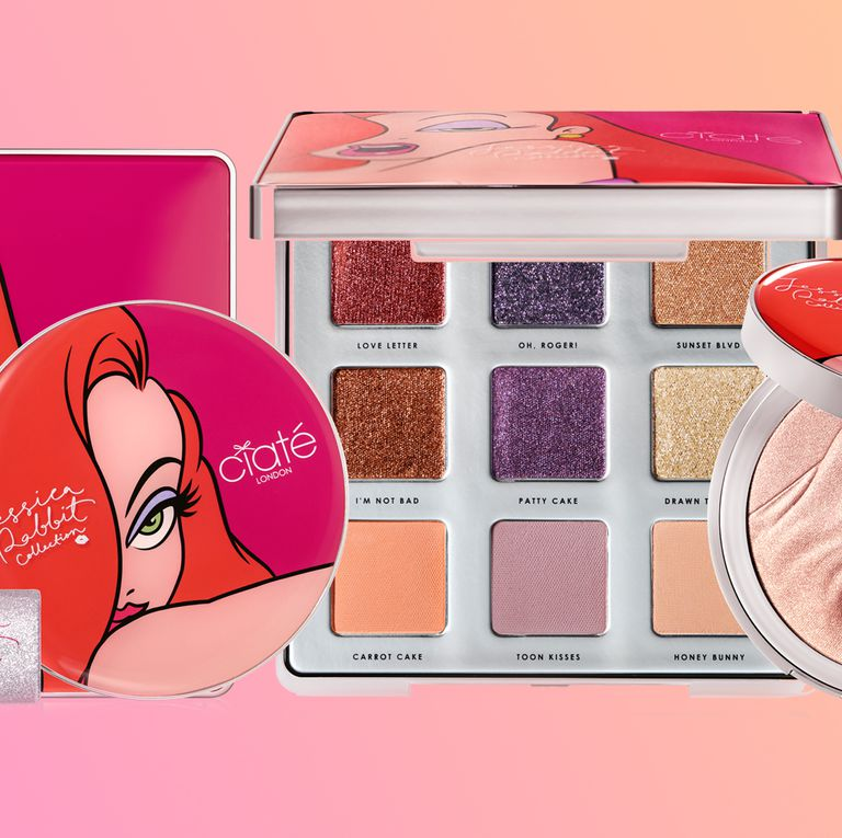 So, Ciaté's Jessica Rabbit makeup collection is seriouslyiconic