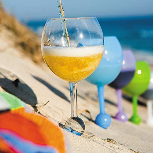 Το ήξερες ότι υπάρχουν ειδικά ποτήρια κρασιού για τηνπαραλία;