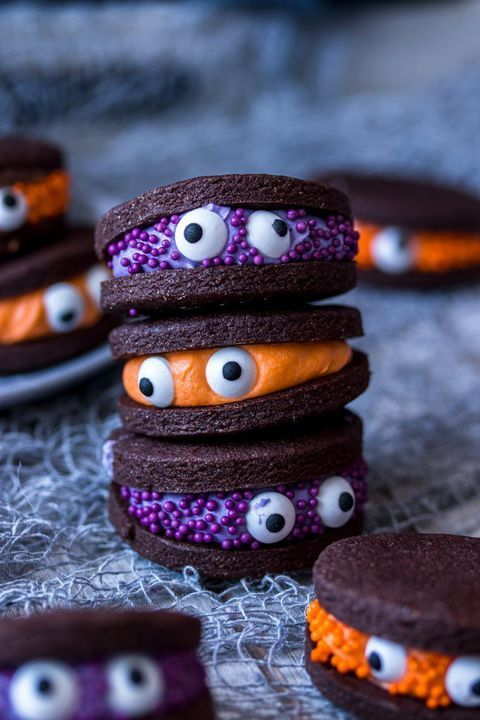 Chocolate Monster HalloweenCookies