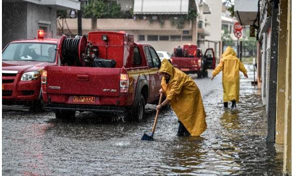 Πυροσβεστική: Σε εφαρμογή το σχέδιο για την αντιμετώπιση κινδύνων από την εκδήλωση πλημμυρικώνφαινομένων