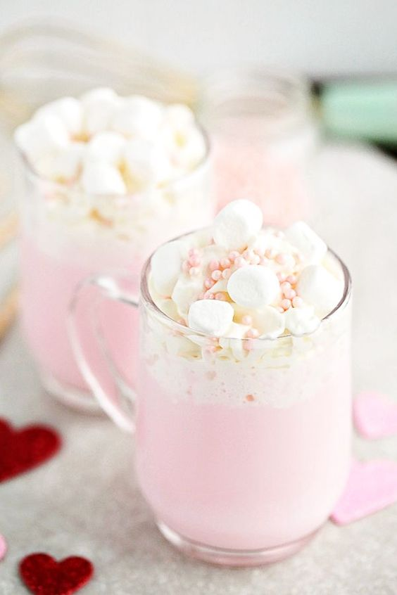 Pink Hot Chocolate