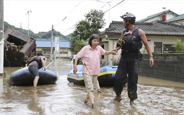 Ιαπωνία: Φόβοι για 14 νεκρούς σε οίκο ευγηρίας πουπλημμύρισε