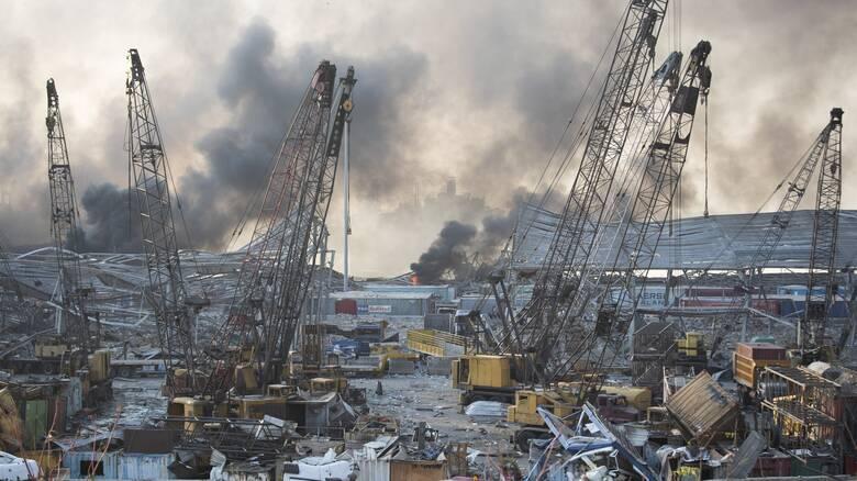 Βηρυτός: Πολύνεκρες εκρήξεις, χιλιάδες τραυματίες και εγκλωβισμένοι σεσυντρίμμια