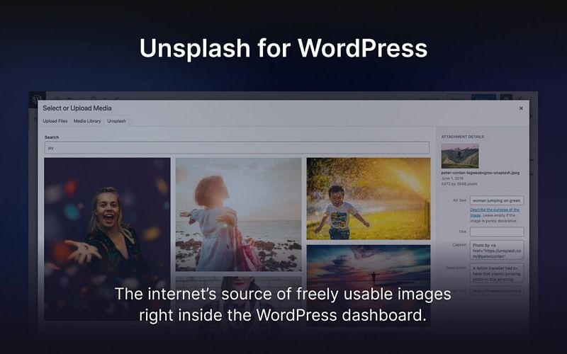 Unsplash: Το νέο WordPress Plugin διαθέσιμο προςόλους