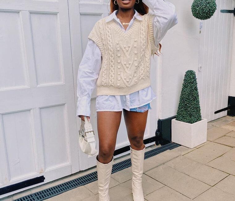 Το πλεκτό γιλέκο είναι ό,τι πιο hot θα φορέσεις αυτό τοφθινόπωρο